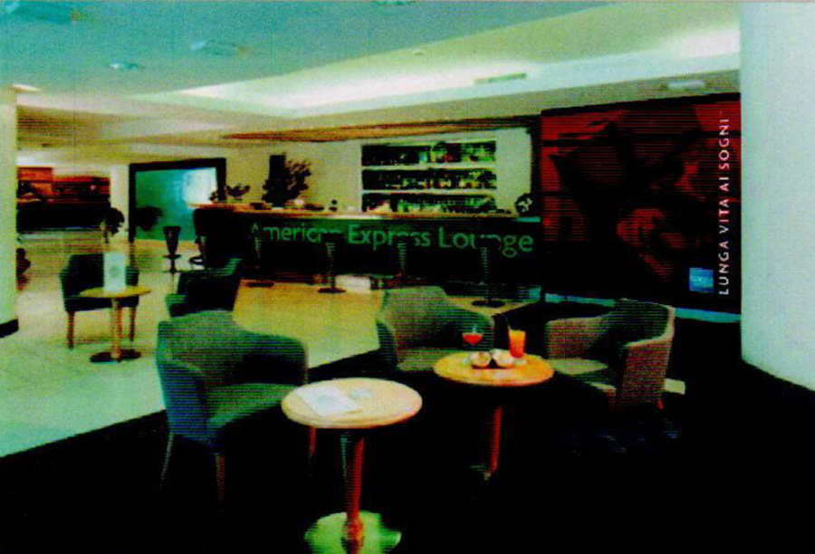 American Express Lounge - Easy Consulting 2002 - Roma