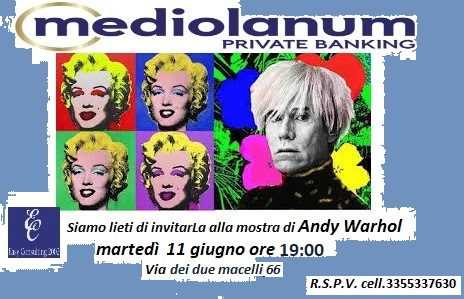 Mostra Andy Warhol - Easy Consulting 2002 - Roma