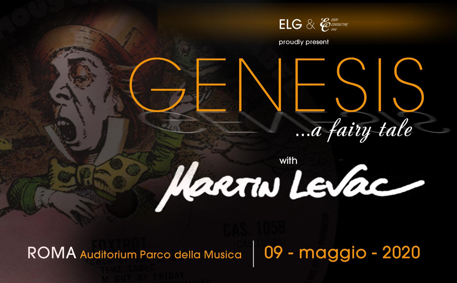 Genesis a fairy tale with Martin Levac - Easy Consulting 2002 - Roma